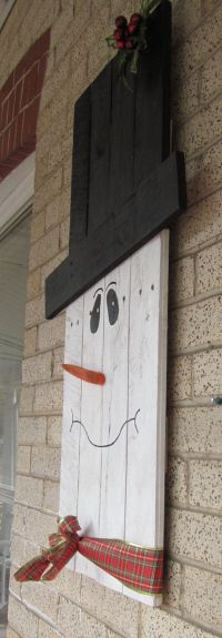 25+ best ideas about Wood Snowman on Pinterest