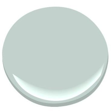 One of my favourite blues for a painted ceiling. Benjamin Moore Woodlawn blue, peaceful, comforting, promotes a feeling of tranquility, can look blue or green depending on lighting