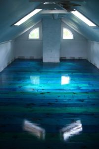 25+ best ideas about Blue floor on Pinterest | Attic loft ...