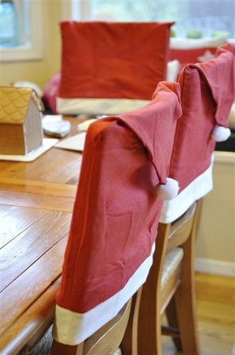 halloween chair covers dollar tree peppa pig table and chairs set funny original !chair covers, santa hats, stores, cute ideas, dining chairs, ...