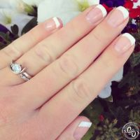 25+ best ideas about Gel French Tips on Pinterest | Gel ...