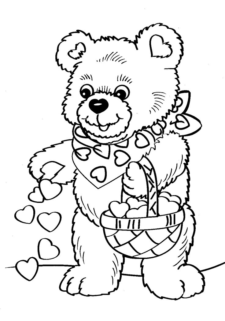 Free Coloring Pages Of Tatty Teddy Friends