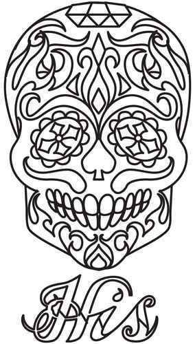 17 Best ideas about Sugar Skull Design on Pinterest