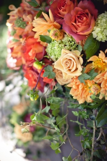 great colors for fall wedding