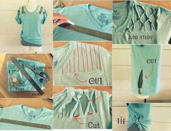 Image result for diy fashion projects pinterest  Reuse and Restyle Your Old Clothes 55f03f6de5149e2df1bb825fa0744407