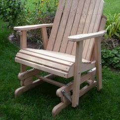 Adirondack Chairs Amish Cream Crushed Velvet Chair Covers Wodden Yard Glider | Oak Barrel Wood Outdoor Furniture R Back ...