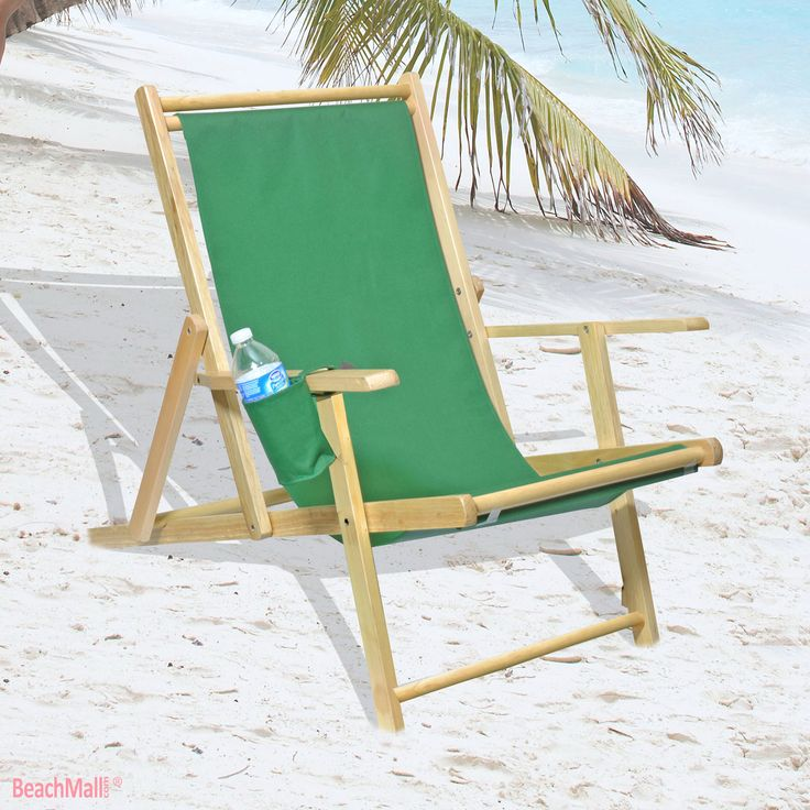 1000 images about Wooden Beach Chairs on Pinterest