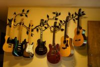 131 best images about Guitar Display on Pinterest | Wall ...