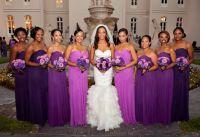 Radiant orchid bridesmaid dresses #intheknow | Bridesmaids ...