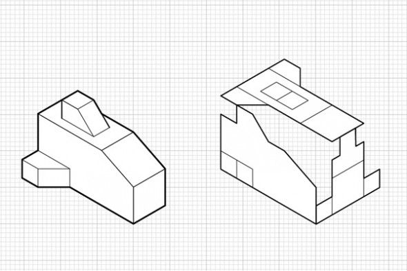19 best images about Orthographic Projections on Pinterest