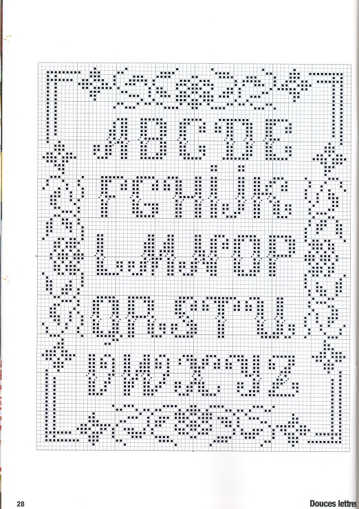 17 Best images about knitted alphabets on Pinterest