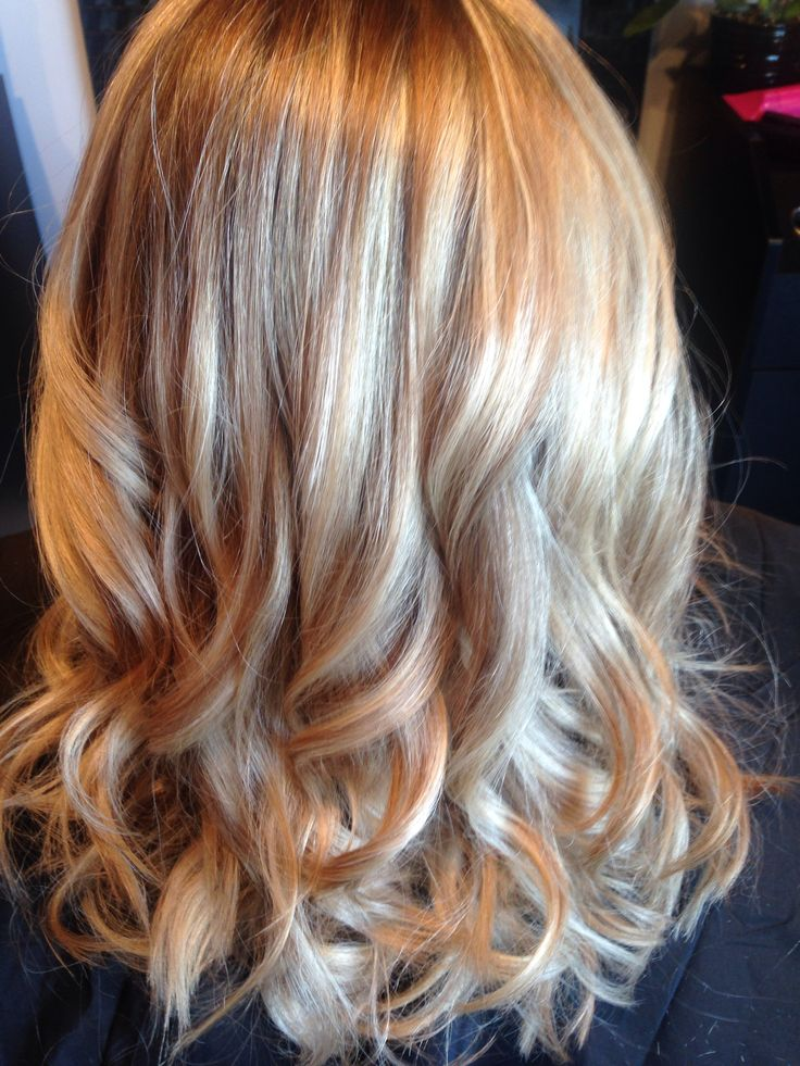 Redken Blonde Highlights And Ash Gold Lowlights Hair