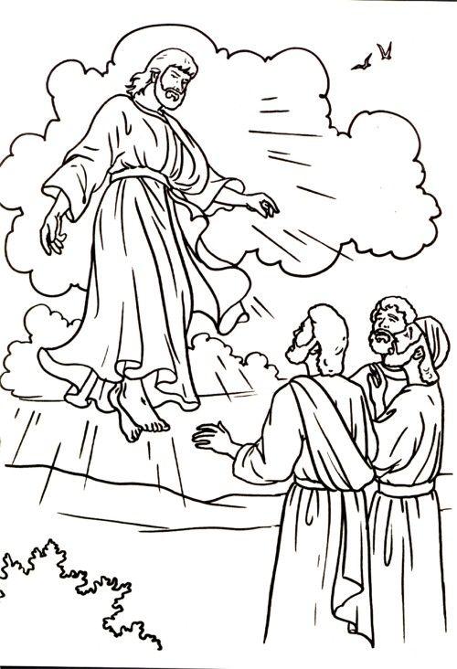 1000+ images about Bijbel: Hemelvaart van Jezus, kleuters
