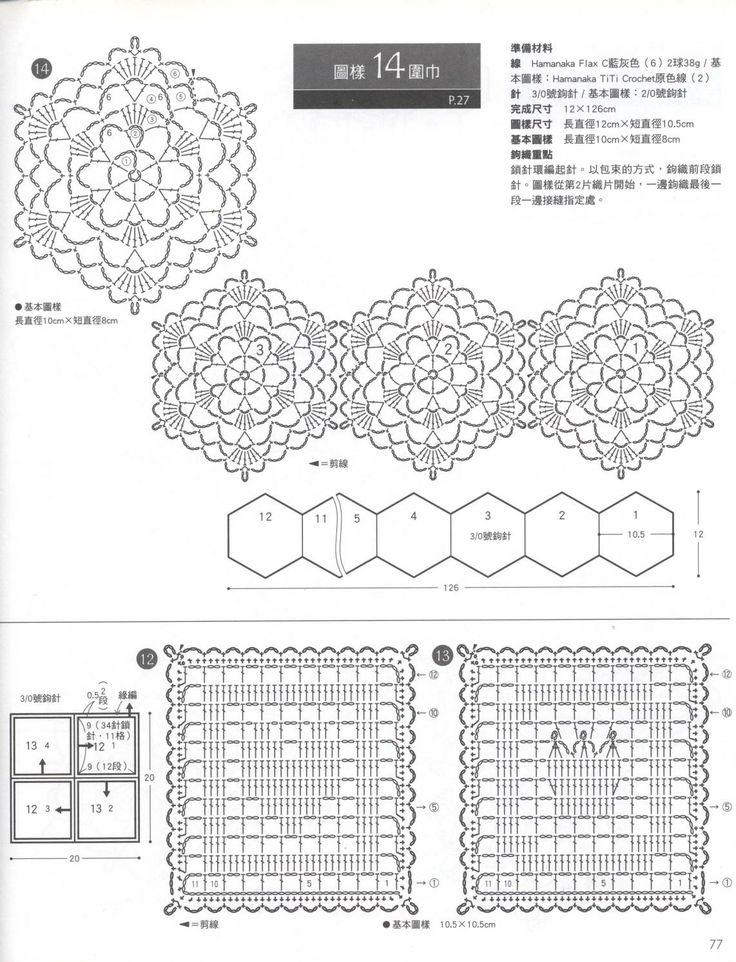 212 best crochet hexagon images on Pinterest