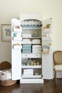 25+ best ideas about Linen Cabinet on Pinterest