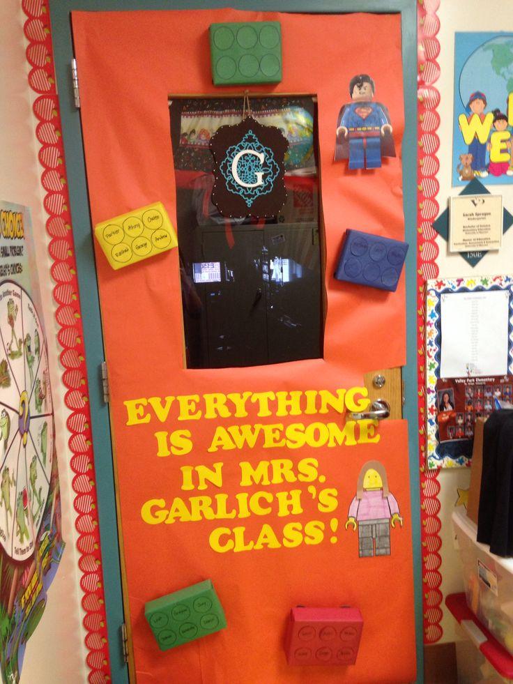 Teacher door decorations