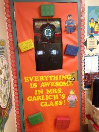 Teacher door decorations--Lego movie | Lego Movie ...