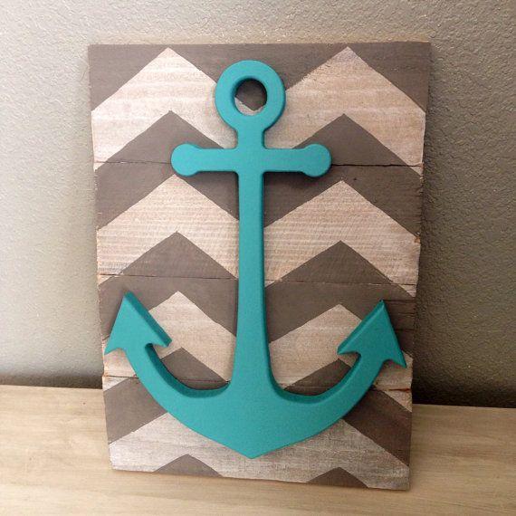Best 25 Anchor wall decor ideas on Pinterest  Nautical Beach house decor and Nautical bedroom