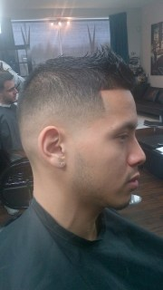 mid bald fade rylc barber styling
