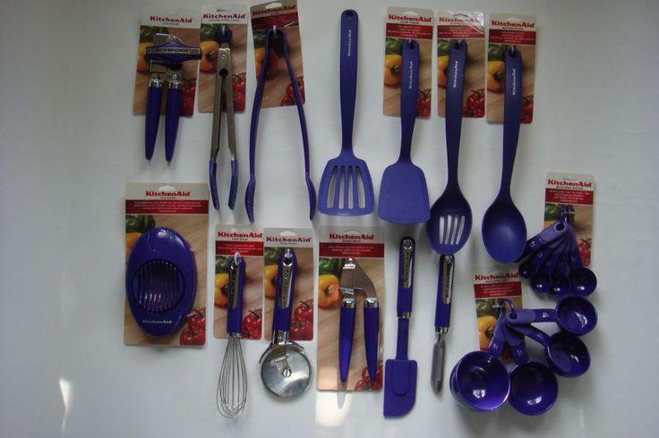 New Kitchenaid Utensils Grape Purple Color HBIA 15