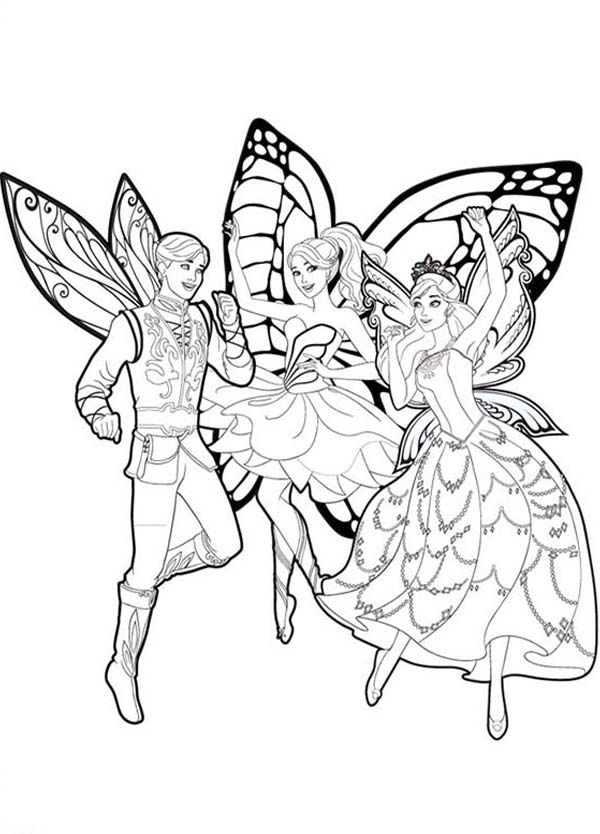 Barbie Mariposa, Barbie Mariposa and Her Butterfly Fairy