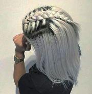 dyed gray hair ideas