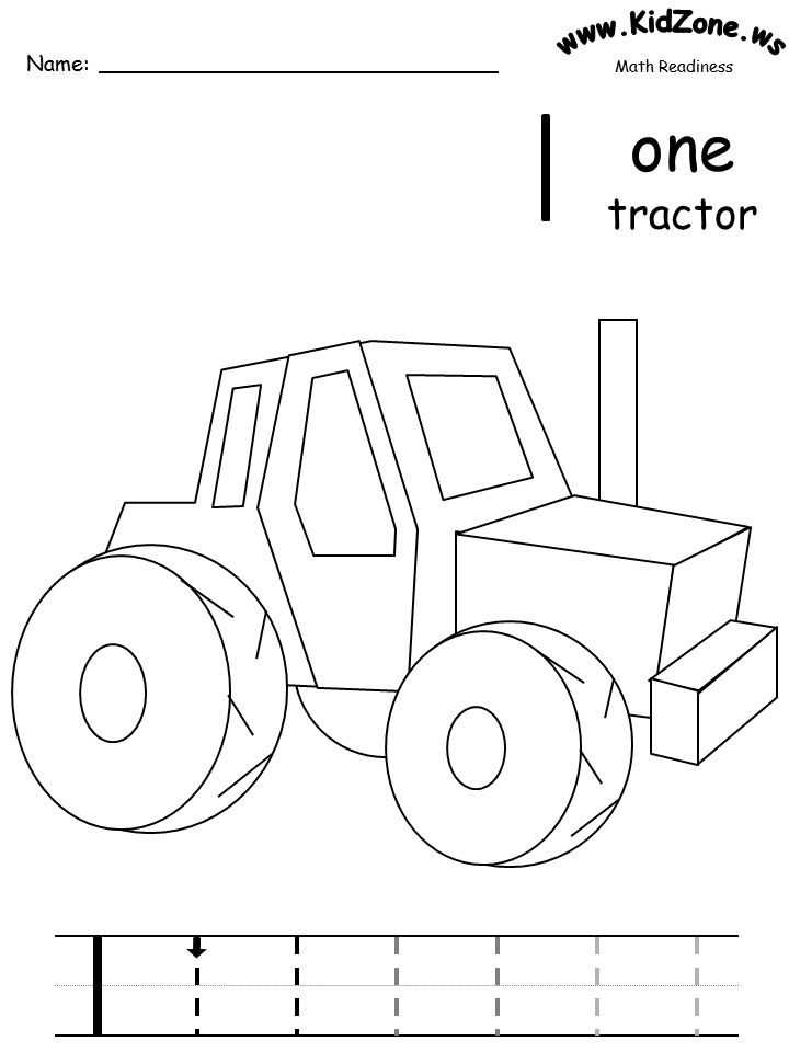Number colouring in sheets for kinder actual link here
