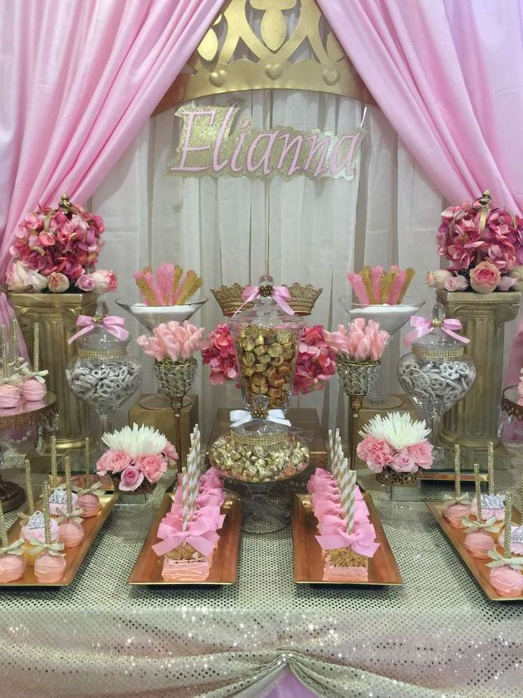 17 Best ideas about Princess Baby Showers on Pinterest