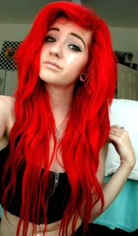 25+ best ideas about Bright Red Hair Dye on Pinterest