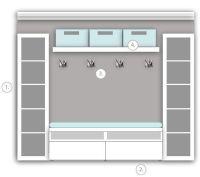 Best 20+ Ikea Entryway ideas on Pinterest   Ikea mudroom ...