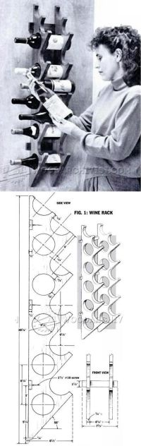 Best 20+ Wine rack plans ideas on Pinterest | Wine rack ...