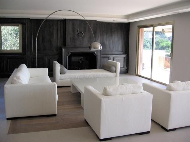 74 best images about Living Room  Zoom sur les Salons on Pinterest  Black fireplace Armchairs