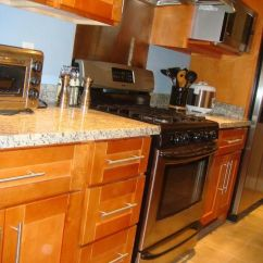 Kitchen Cabinets Rta Marble Tables Honey Colored | Cabinet Broker - 1r ...