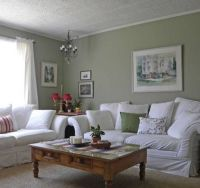 17 Best ideas about Sage Living Room on Pinterest