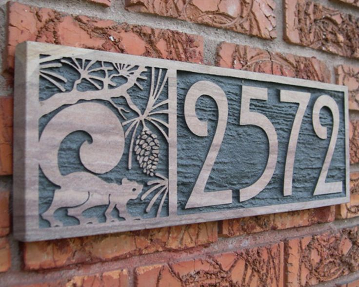 25 Best Ideas About House Number Plaques On Pinterest Diy House