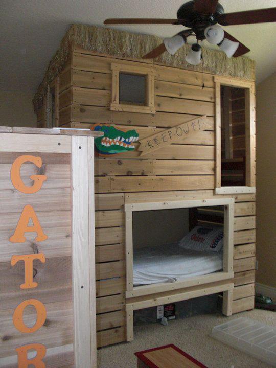 Bunk Bed Fort Kids Room Pinterest Loft Beds The O