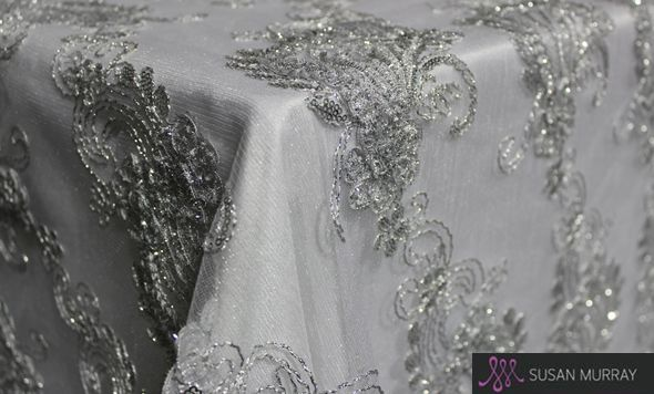 Silver Gatsby Overlay Susan Murray Wedding Ideas