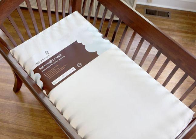 Naturepedic Lightweight Organic Baby Crib Mattress