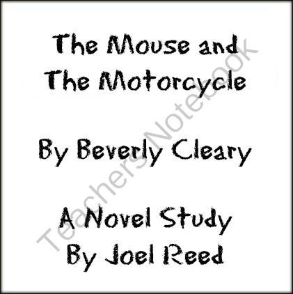 17 Best images about The Mouse and the Motorcycle Ideas