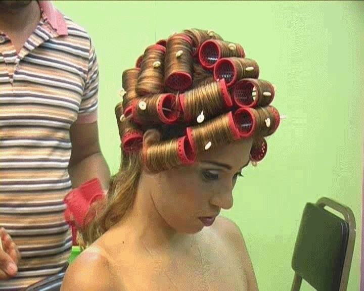 Pin By Zsfia Pink On Hair Rollers And Curlers Pinterest