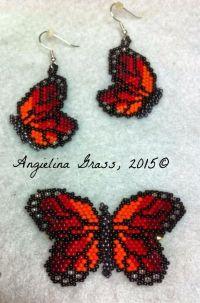 1000+ ideas about Beaded Earrings Patterns on Pinterest ...
