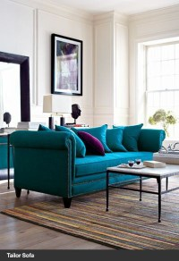 15 best images about Teal sofas on Pinterest | Upholstered ...