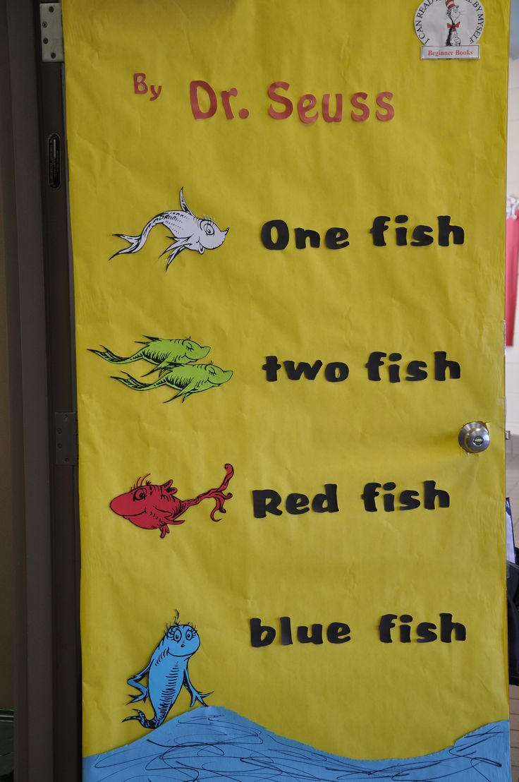 Dr. Seuss One Fish Two Fish