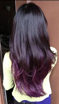 Black Hair With Purple Undertone MEMEs Of Hair Color With ...