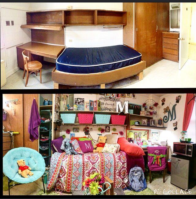 CarsonNewman University Burnett Hall  Dorm Room  Pinterest
