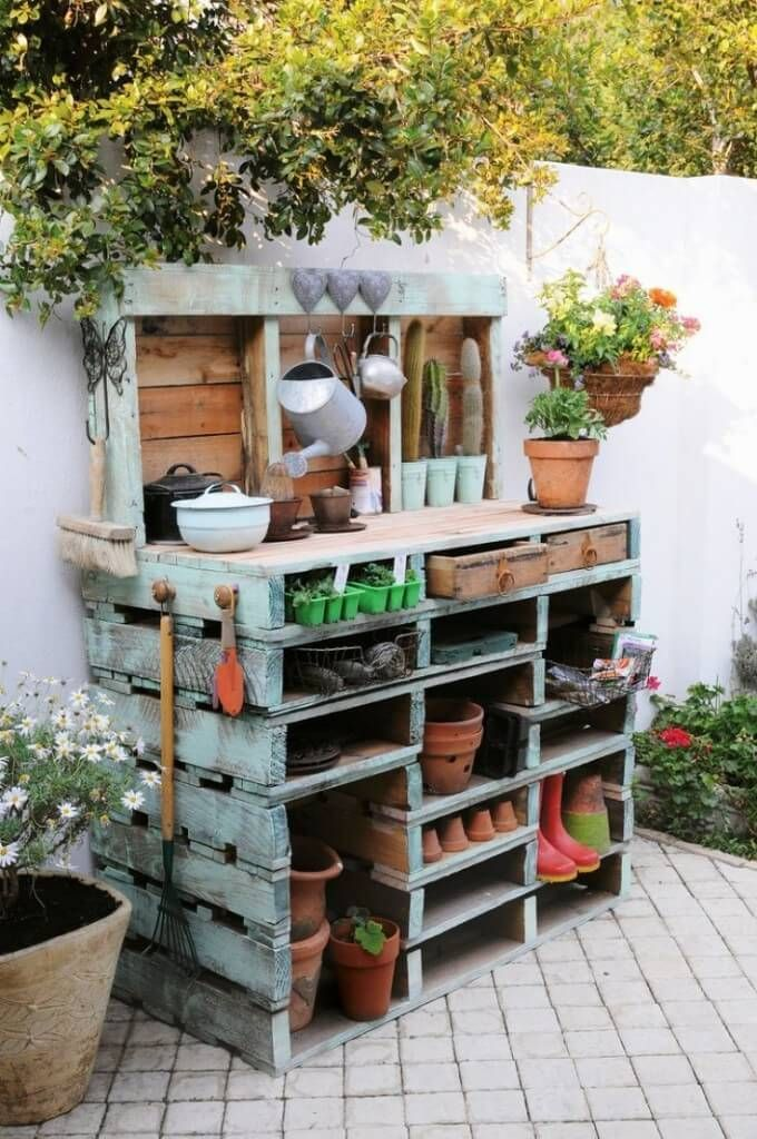 The 25 Best Ideas About Pallet Garden Projects On Pinterest