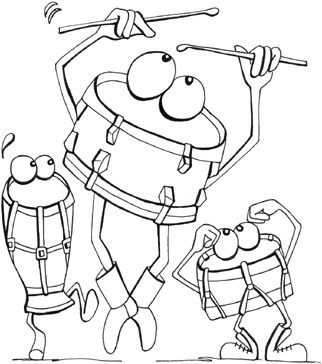 22 Musical-themed Colouring Pages for Kids #colouringpages