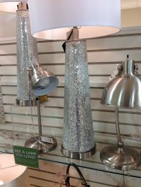 Mirror mosaic table lamp by nicole miller @home goods ...