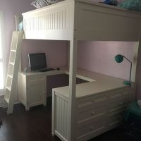 pottery barn teen loft bed - 28 images - loft bed pottery ...