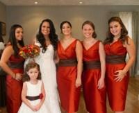 Burnt Orange And Brown Bridesmaid Dresses | www.pixshark ...